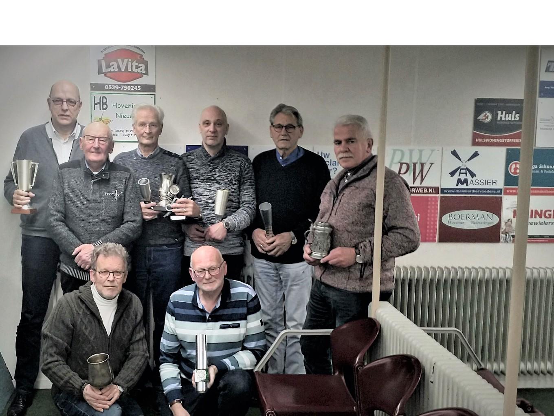 Schietsport Vereniging Nieuwleusen huldigt clubkampioenen