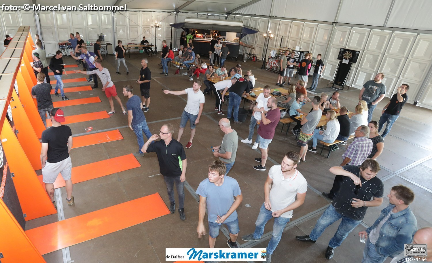 2 september 2018: Darttoernooi Oranjefeest