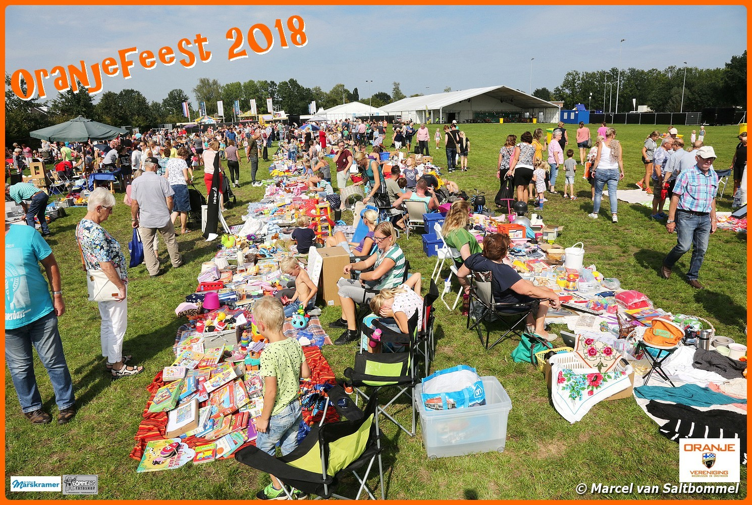 5 september 2018: Opening Oranjefeest